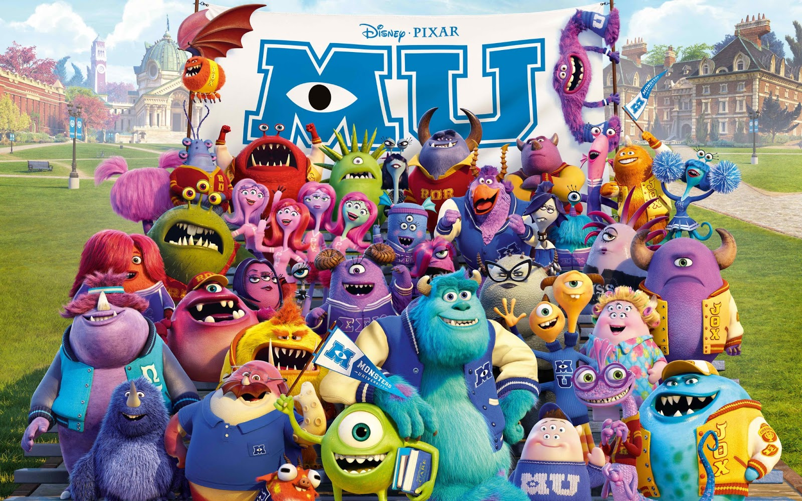 Monster University Quick Review with Quotes - The Coffee Chic