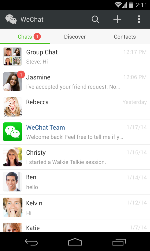 WeChat 5 2: Taking Up the Ante for Social Scenes with 6 New Features